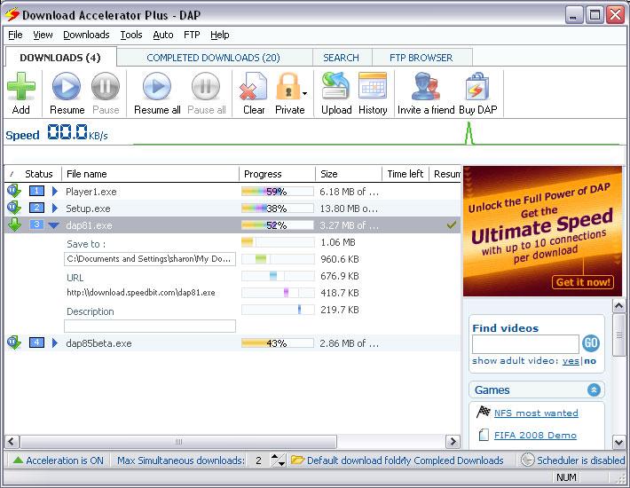 Download Accelerator Plus_1