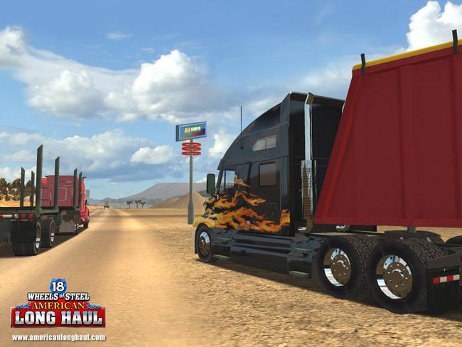 Simulador de Caminhão - 18 Wheels of Steel