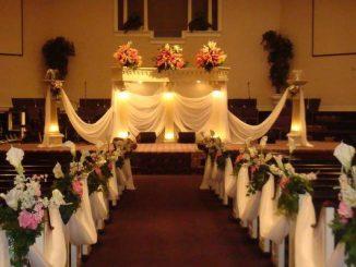 Decoração de Igreja Casamento